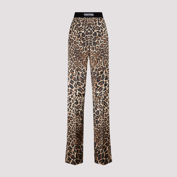 Tom Ford Leopard Pajama Pants