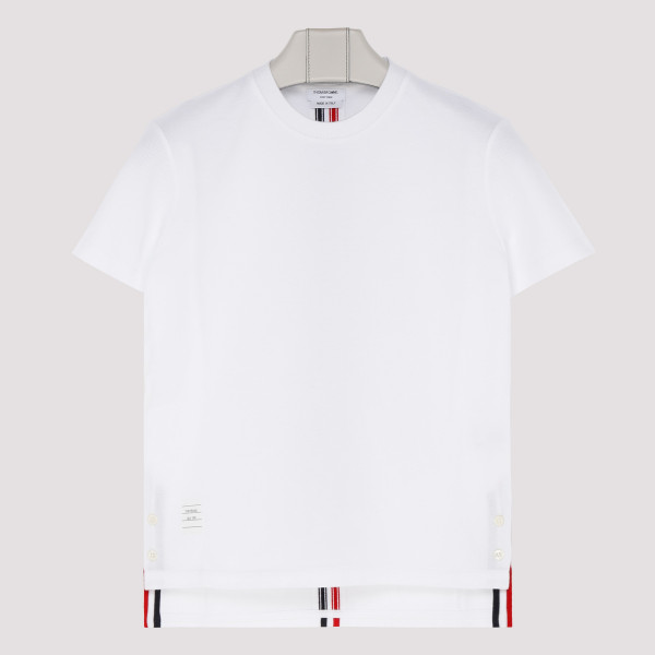 White cotton T-shirt with...