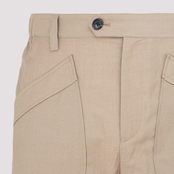 Lanvin Wool and Linen Pants