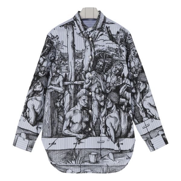 Durer printed cotton shirt