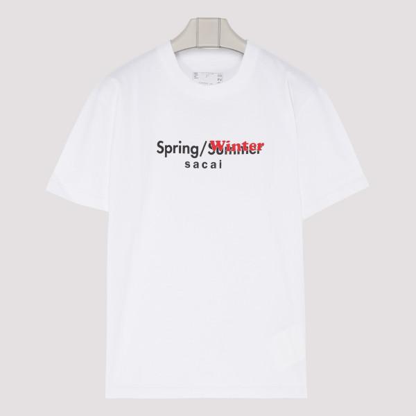 White cotton Spring Winter...