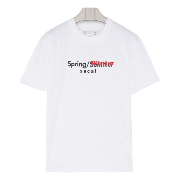 White cotton Spring Winter T-shirt