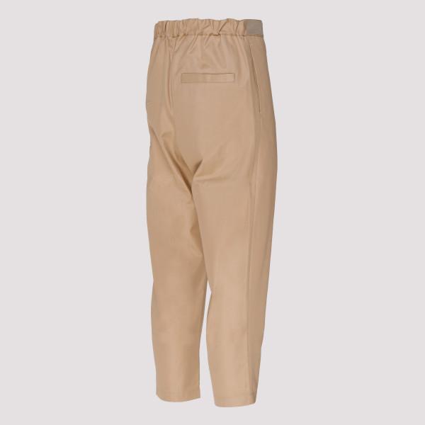 18eb3ead4a Flight Cotton Crop Trousers