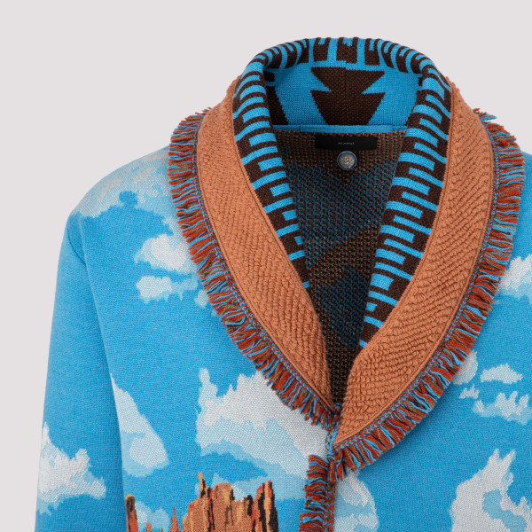 Alanui The Monument Valley Horses Cardigan