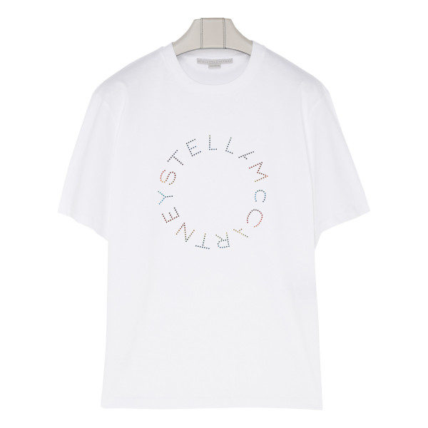 White cotton Stella T-shirt