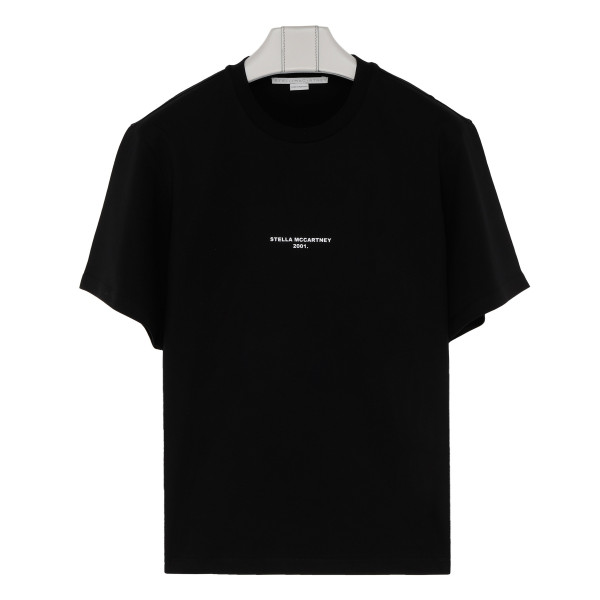 Black cotton Stella T-shirt