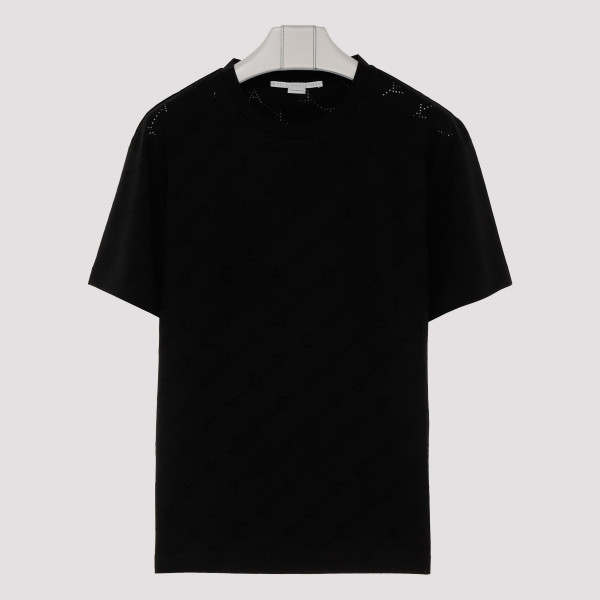 Black T-shirt with logo...
