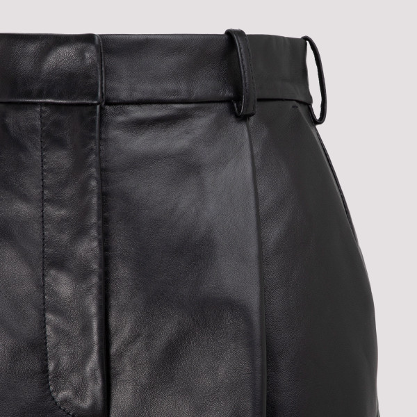Acne Studios Leather Shorts