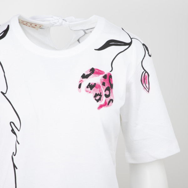 Marni Printed Flower T-Shirt