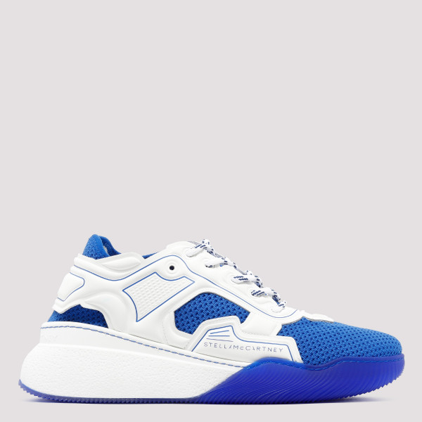 Loop white and blue sneakers