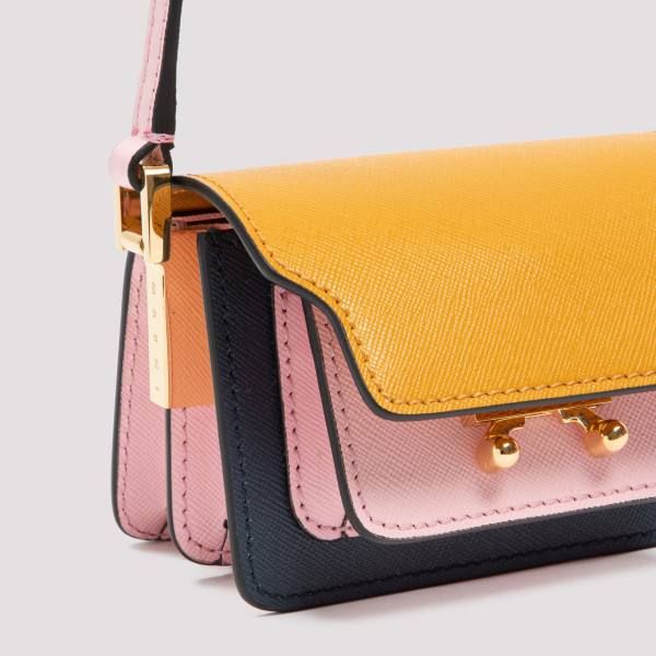 Marni Trunk Nano leather crossbody bag