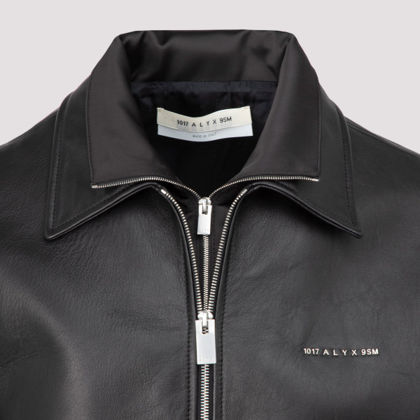 Alyx Leather Double Collar Shirt