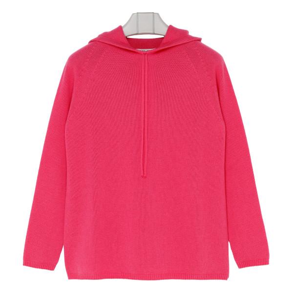 Meris pink cashmere hoodie