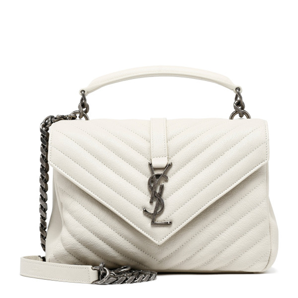 White Collége shoulder bag