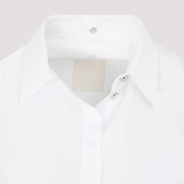 Givenchy Oversized Shirt With Drapped Collar