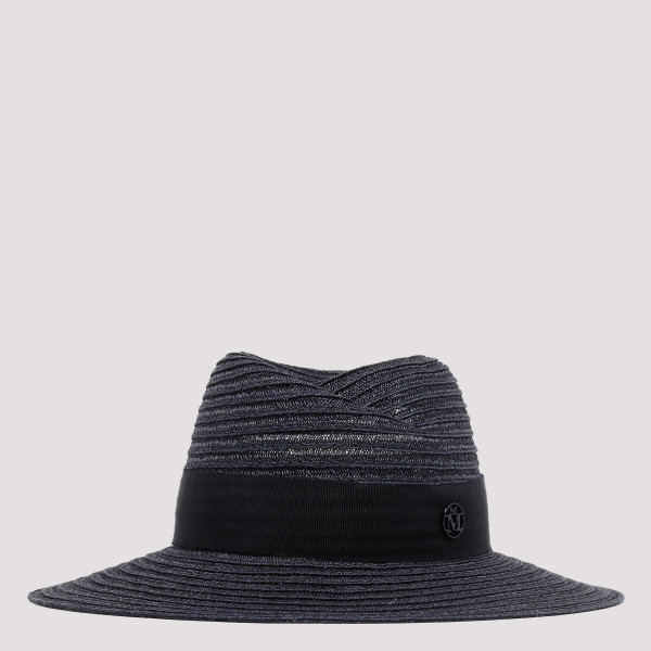 Virginie navy panama straw hat