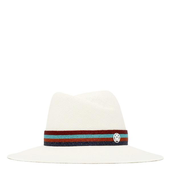 Virginie woven brisa straw fedora hat