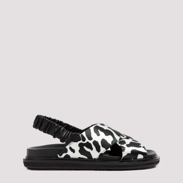 Marni Leather Fussbet Sandals