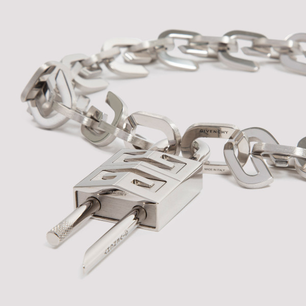 Givenchy Lock G-link chain necklace