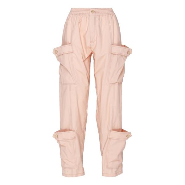 Peach cargo pants