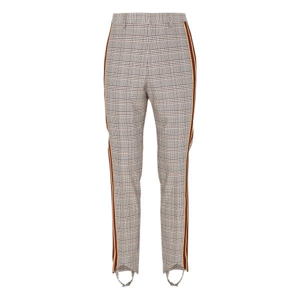 Check stirrup pants