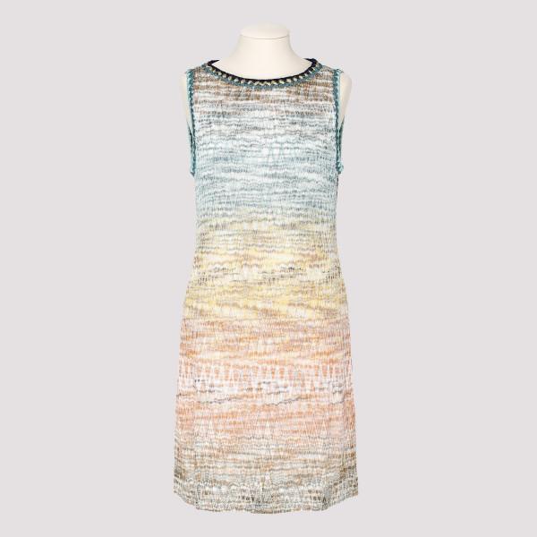 Zig-zag mini dress