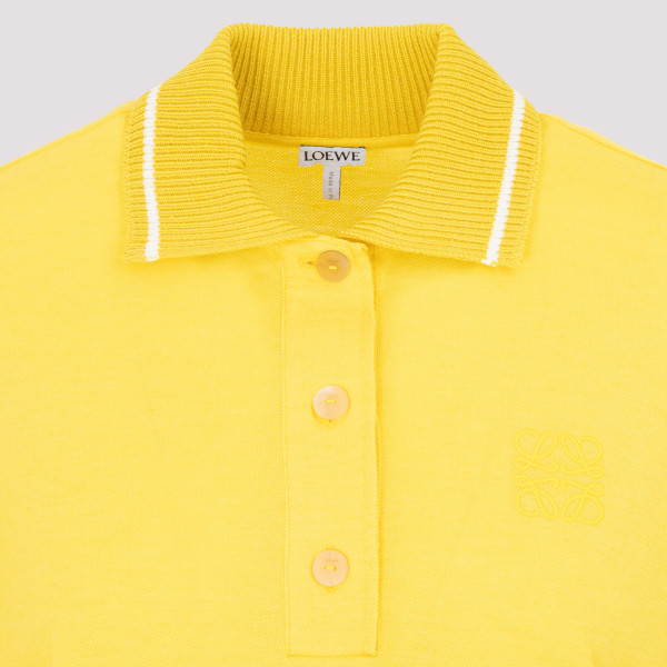Loewe Anagram polo in cashmere and cotton