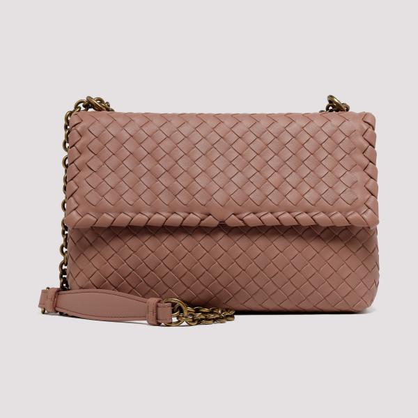 62041a272db8 Deco Rose Small Olimpia bag in intrecciato