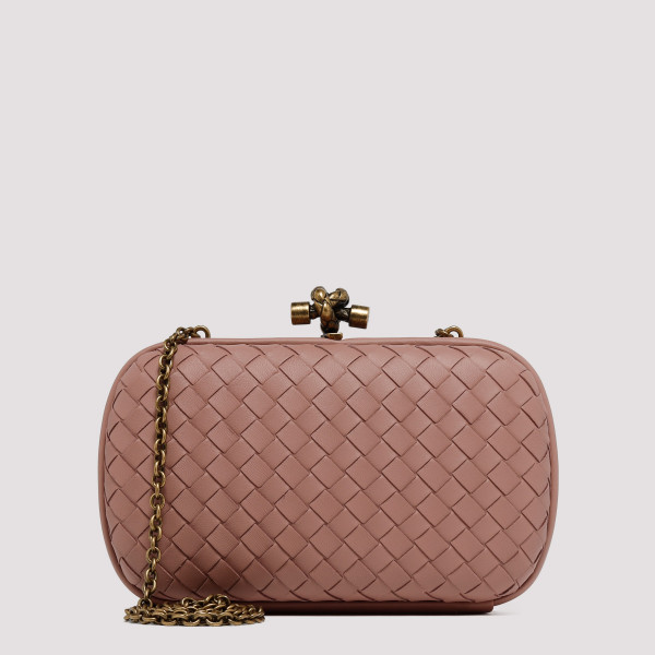 Deco Rose Chain knot bag in...