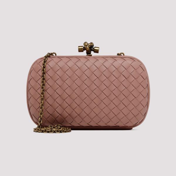 5a807a894627 Deco Rose Chain knot bag in intrecciato nappa
