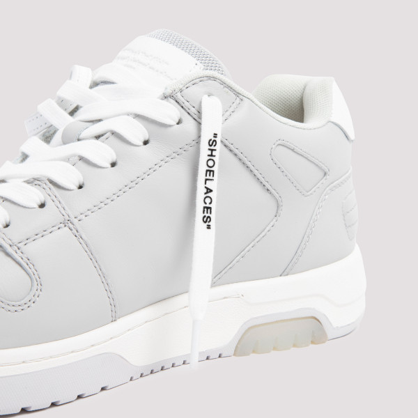 Off-White Out Office Leather Sneakers
