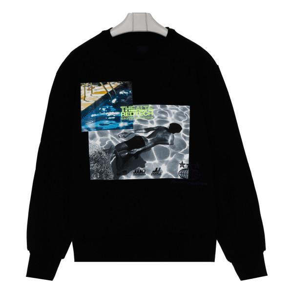 Black Thealte Redtech hoodie
