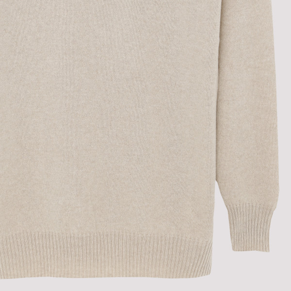 V Neck Oversized Knitted Jumper