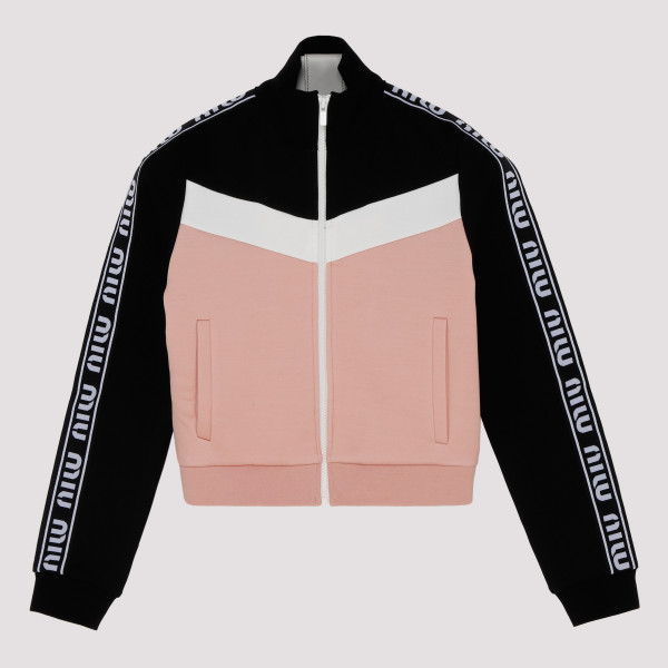 Track zipped Sweater jacket