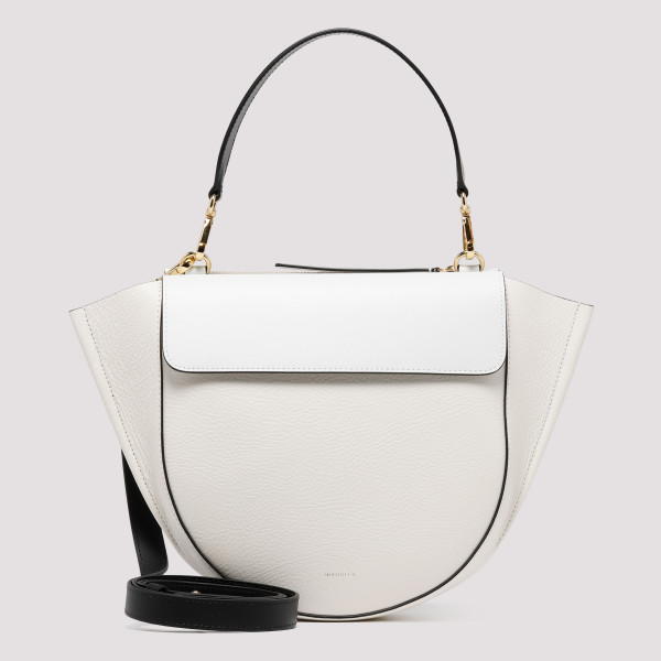 White leather Billy belt bag