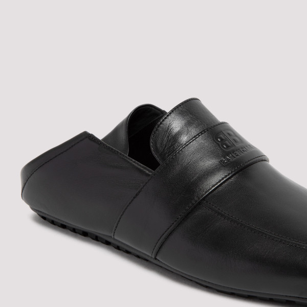 Balenciaga City Leather Loafers