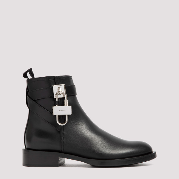 Givenchy Leather Padlock Boots