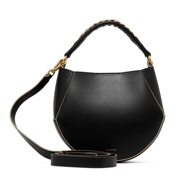Black leather Corsa Mini bag