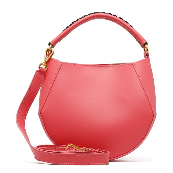 Corsa coral mini handbag