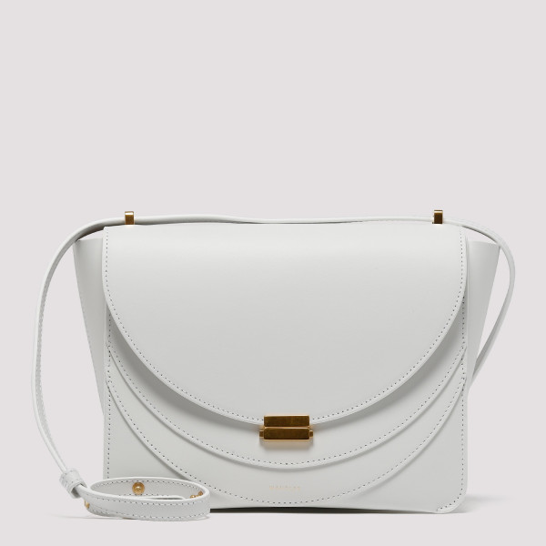Luna white shoulder bag