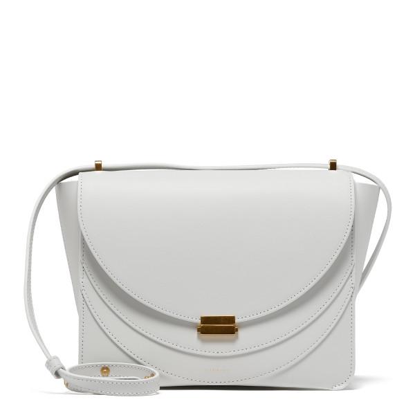 Luna white shoulder bag