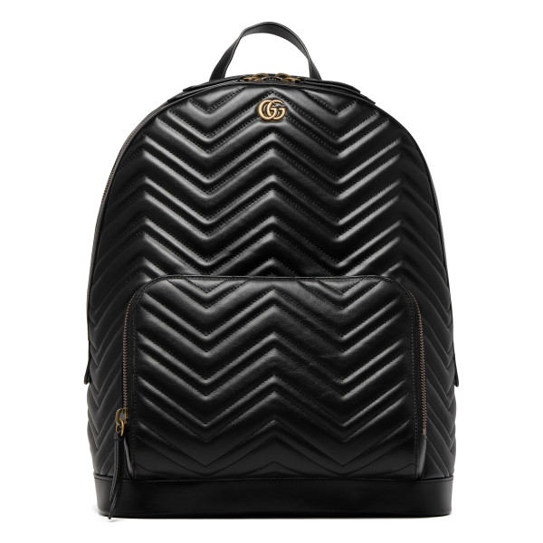 GG Marmont black backpack