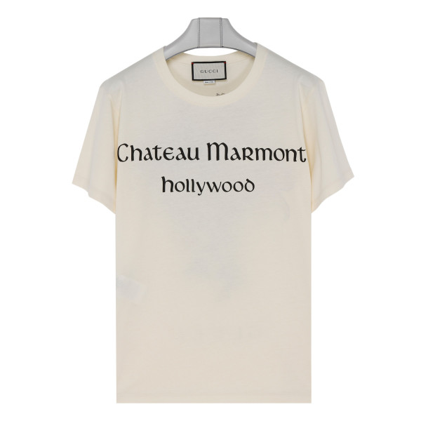 Chateau Marmont ivory T-shirt