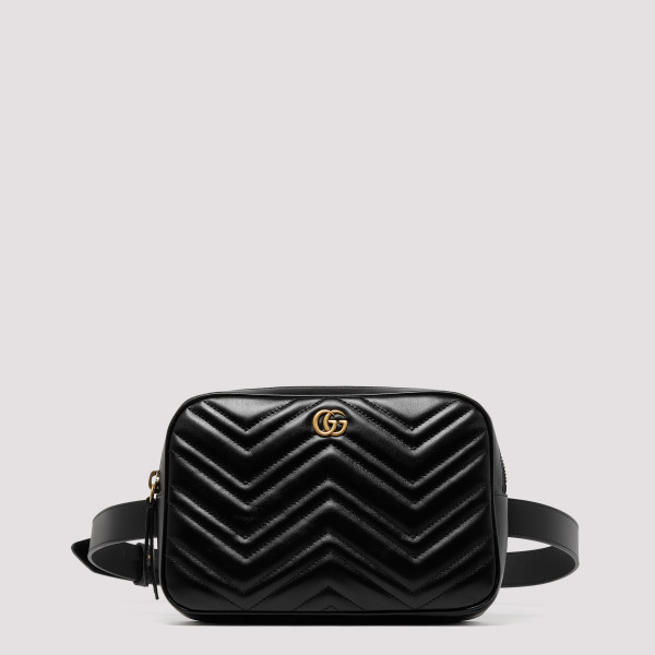 GG Marmont black leather bag
