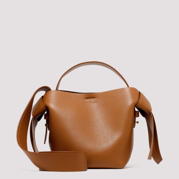 Musubi brown mini bag