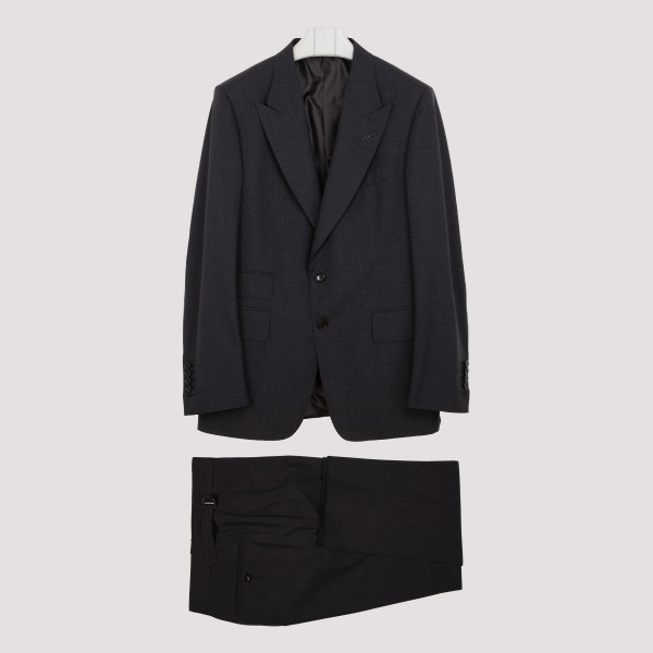 Tom Ford Plain Weave Day Suit