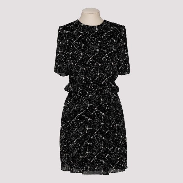 Constellation black viscose...