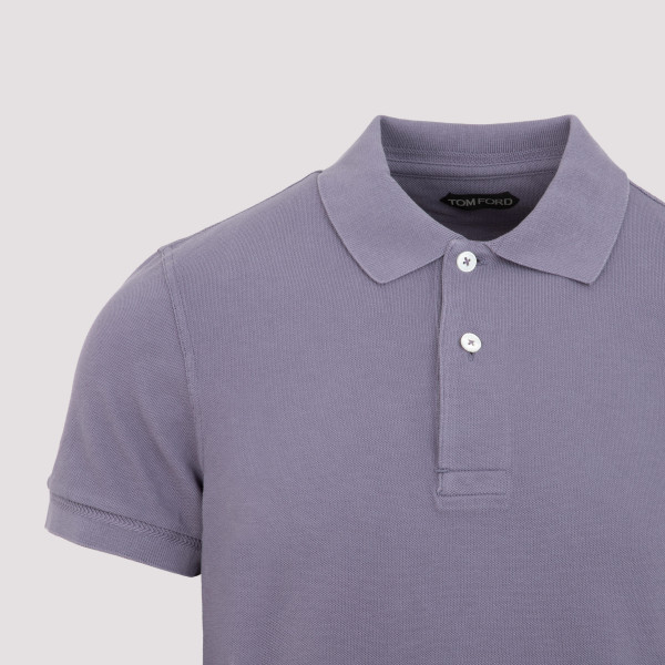 Tom Ford Garment Dyed Polo T-Shirt