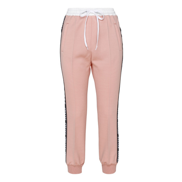 Pink side band pants