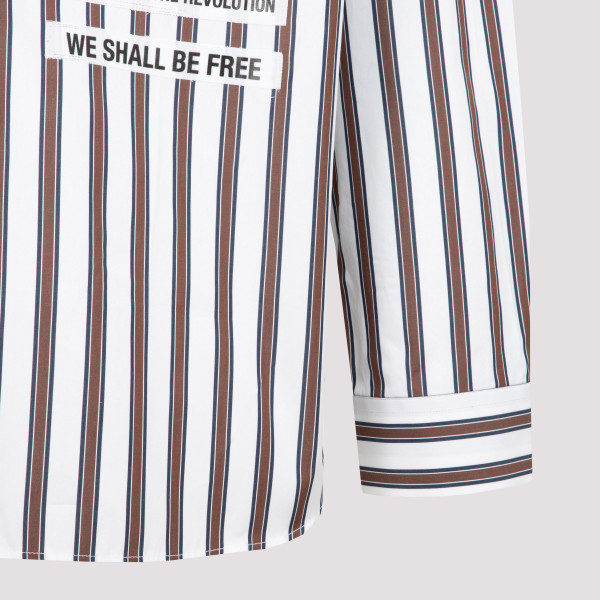 Raf Simons Patched Boxy Fit Shirt